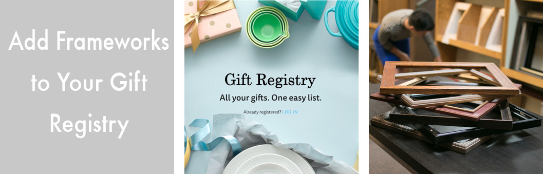 Framing Coupon, Gifts, Gift Registry - The FrameWorks - St. Paul