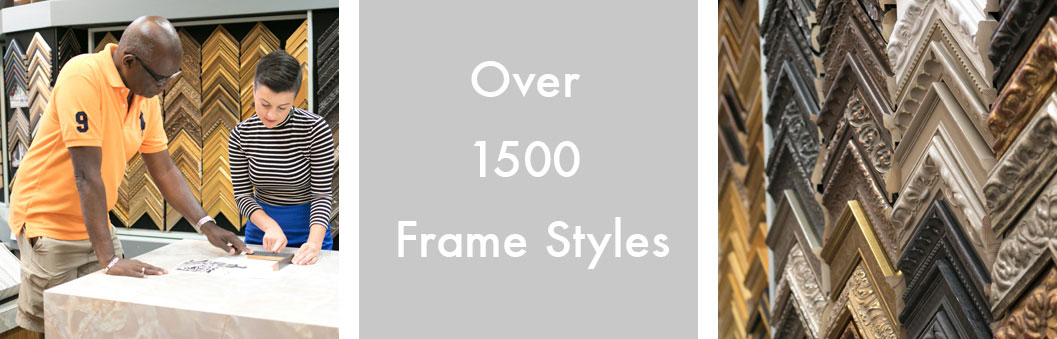 Custom Picture Framing Services & Materials - The FrameWorks - St. Paul