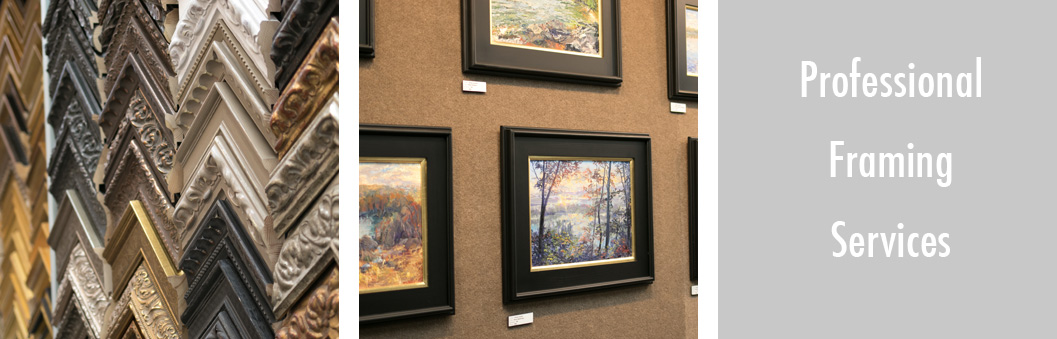 Picture Framing Services & Materials - Art Gallery - The FrameWorks - St. Paul